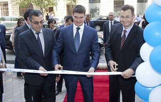 """Bank VTB (Azərbaycan) ASC-nin """"Sahil"""" filialının açılışı olub-"""