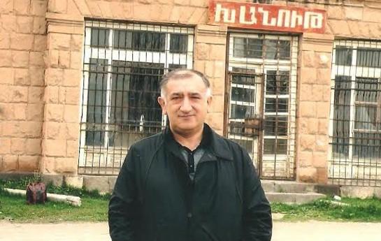 Əli Bayramovun Ermənistanda çəkdirdiyi şəkilləri yayıldı