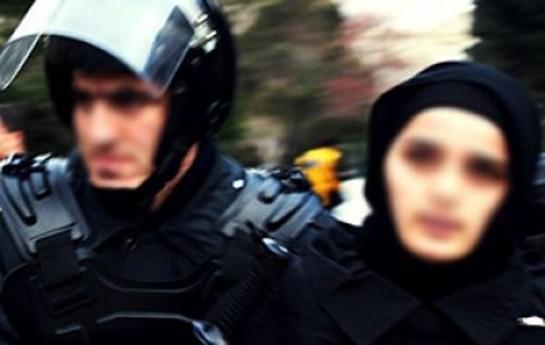 Quran dərsi deyən qadınla polisin mübahisəsinin-