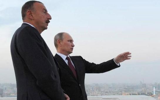 Putin Əliyevlə telefonla danışdı-