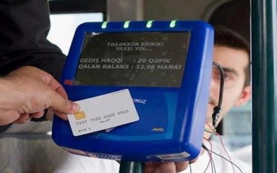 Paytaxtdakı bütün avtobuslar kart sisteminə keçir