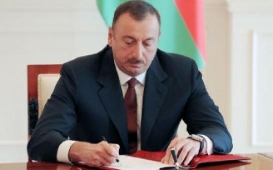 İlham Əliyev rayonla bağlı sərəncam imzaladı