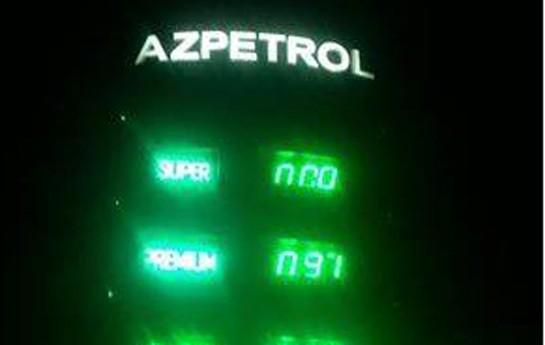 Benzinin qiyməti yenə qalxdı-