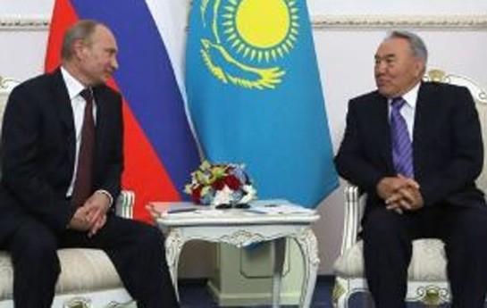 Putin və Nazarbayev Soçi görüşündən danışdı
