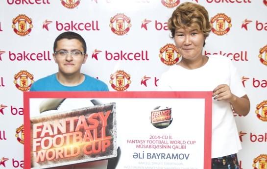 """Bakcell """"Fantasy Football World Cup"""" oyunun qalibini Mançesterə göndərir"""