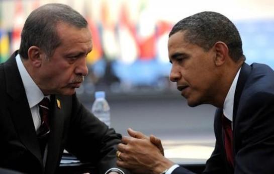 Obama Ərdoğanla Suriya və İraqı müzakirə etdi