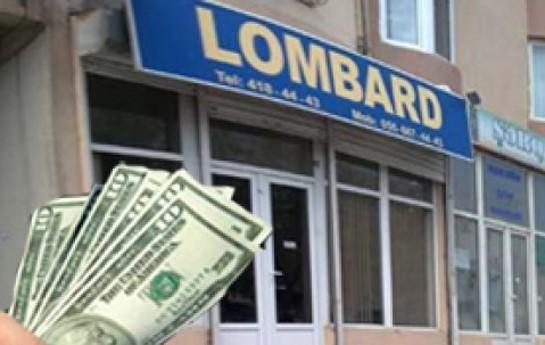 Lombard ofisləri iki dəfə artıb-