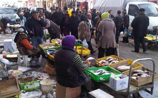 Bazar oğruları tutuldu