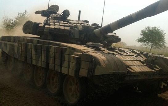 Tanklar Ağstafada –
