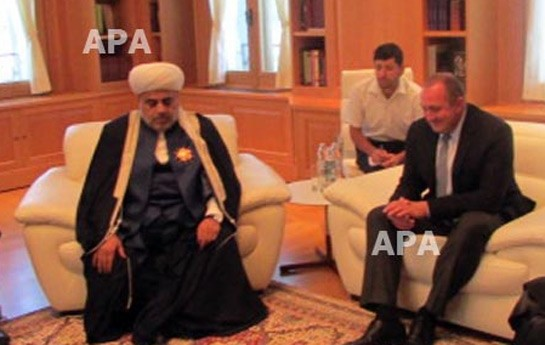 Şeyxin Gürcüstan prezidenti ilə görüşündən-