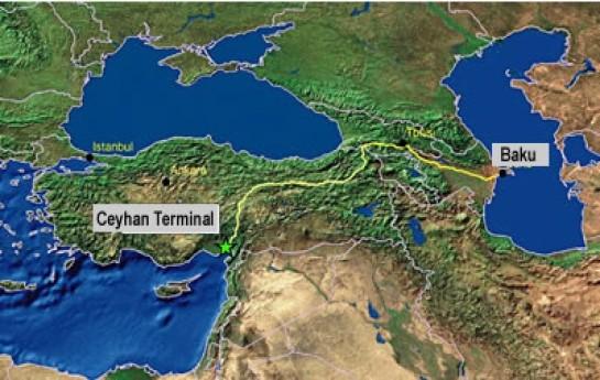 2,4 milyon ton Azərbaycan nefti nəql olunub