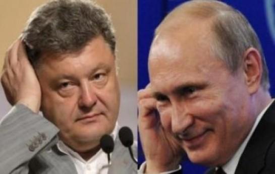 Poroşenkodan atəşkəsə görə Putinə-