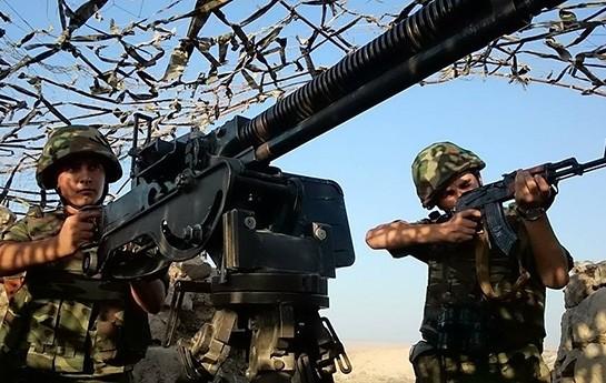 Azərbaycan Ordusunda irimiqyaslı təlim-