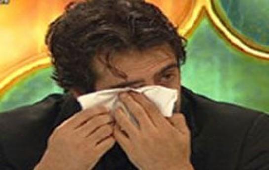 Mübariz Mənsimovun şad günündə Mahsun Kırmızıgül ağladı