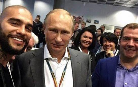 Putin, Medvedev və Timati ...-