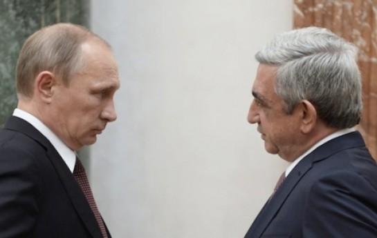 """Putin şantaj edərək Ermənistanı """"Yeni SSRİ""""-yə qoşub-"""