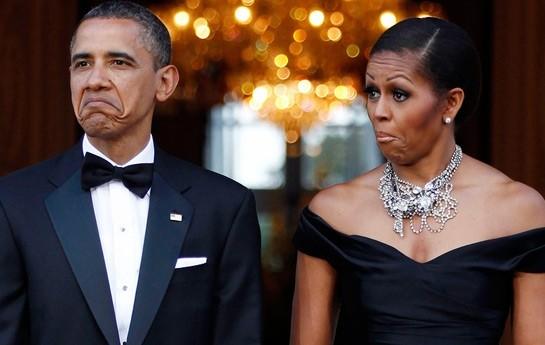 Obama restoran hesabını verə bilmədi-