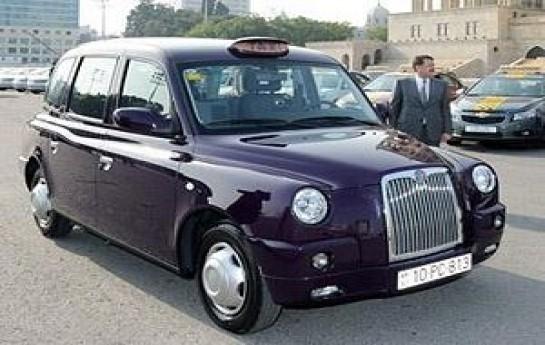 """""""London Taksi""""ləri cərimə meydançasında-"""