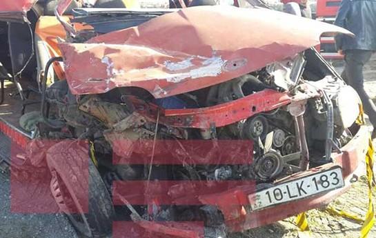 Daha bir avtobus qəzası- — Yenilənib+2 ölü, 11 yaralı+Video