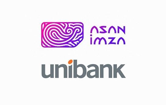 """Unibank """"Asan İmza"""" xidmətinə qoşulur"""
