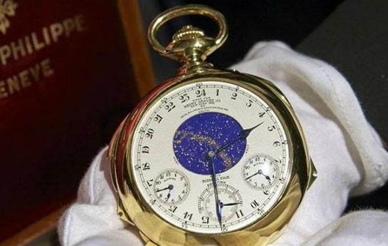 Dünyanın ən bahalı saatı satıldı