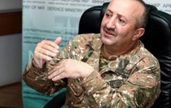 Erməni general Azərbaycan mövqelərinə hücumu etiraf etdi