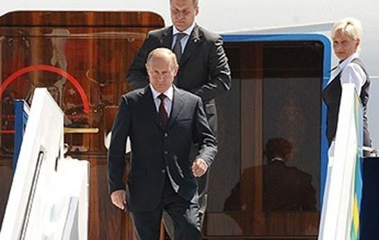 Putin 10 naziri ilə Türkiyədə