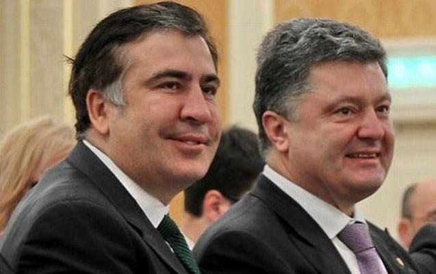 Saakaşvili Poroşenokonun müşaviri oldu -