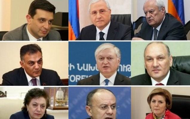 Ermənistanın milyonçu nazirləri-
