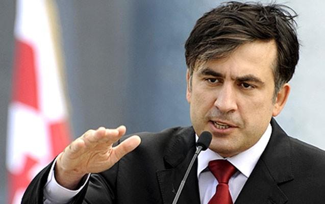 Saakaşvili Rusiyanı acgöz timsah adlandırdı
