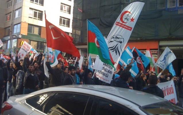 İstanbulda Xocalı yürüyüşü-