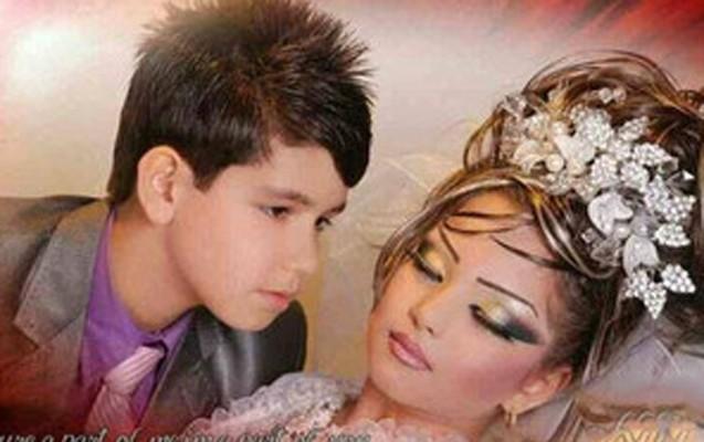 10 yaşlı qızı evləndirdilər-