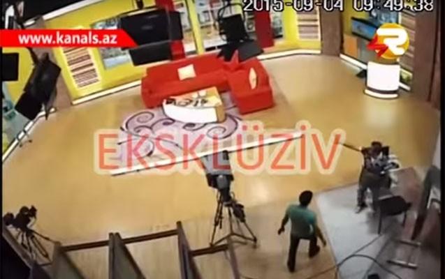 Şəkidə 7 ballıq zəlzələ anı-