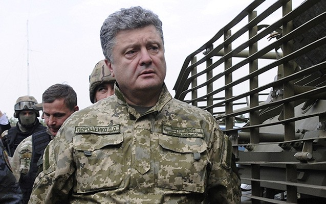 Poroşenko azərbaycanlı leytenantı mükafatlandırdı