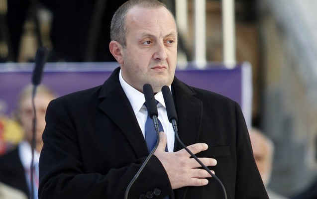 Gürcüstan prezidenti azərbaycanlıların Novruz şənliyinə qatıldı