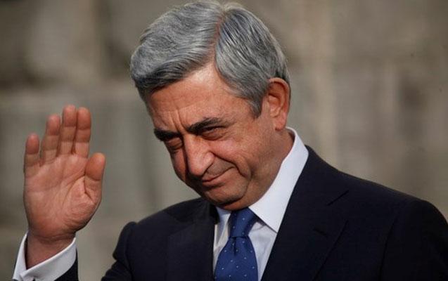 Sarkisyan məzuniyyətə çıxdı