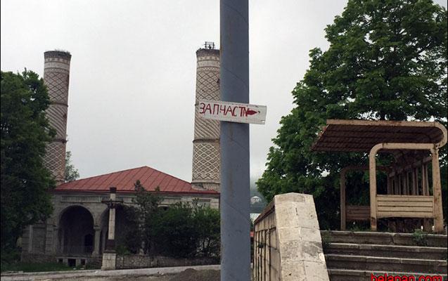 Ağdam məscidi qərargaha çevirildi