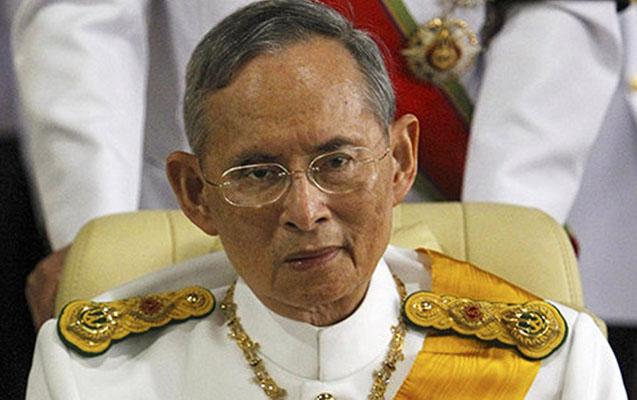 Tailand kralı öldü