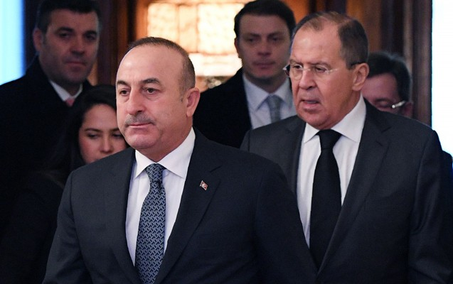Lavrovla Çavuşoğlu arasında telefon danışığı