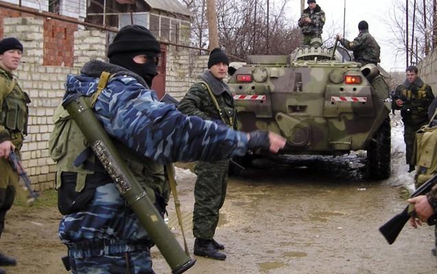 Çeçenistanda 4 döyüşçü öldürüldü