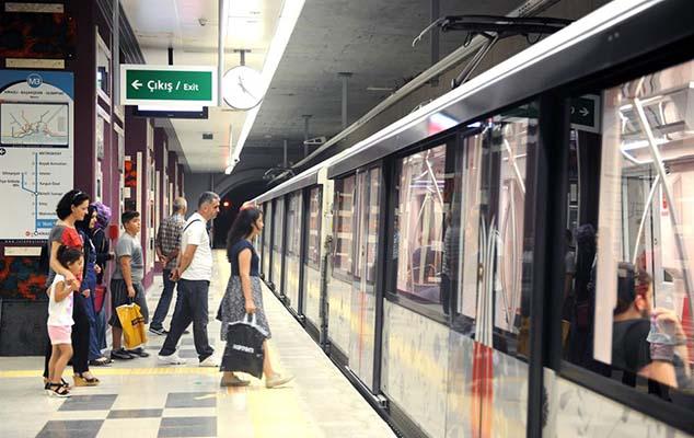 İstanbulda metro stansiyası bağlandı