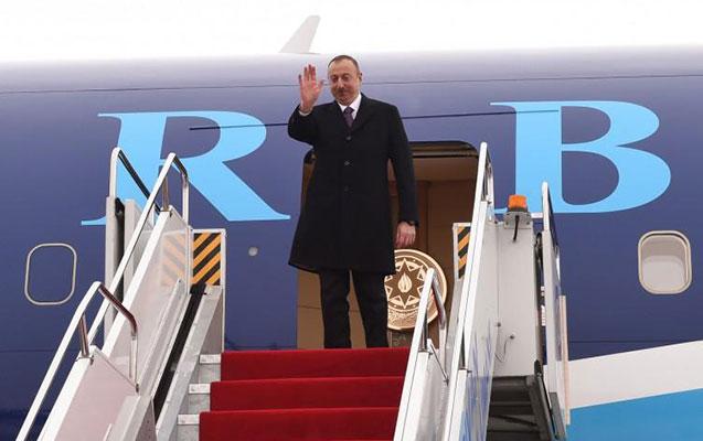 Prezident Naxçıvandan qayıdır