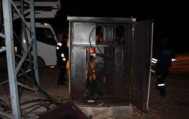Transformator yandı