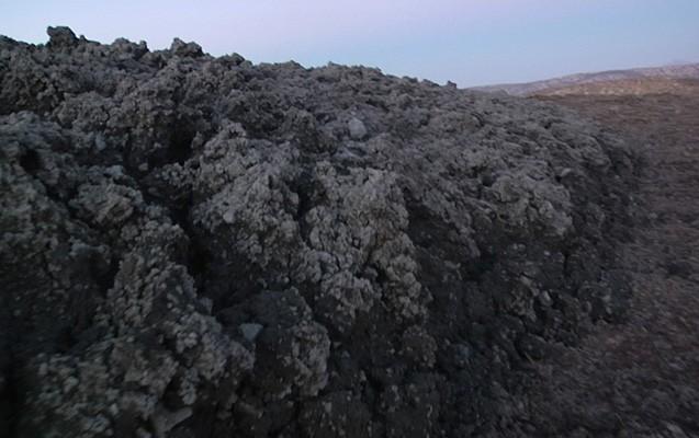 Qaradağda püskürən vulkandan