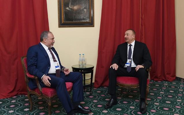 Əliyev Libermanla görüşdü