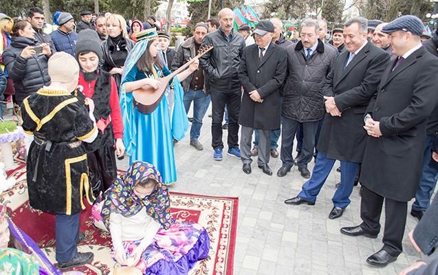Nərimanovda Novruz şənliyi keçirildi