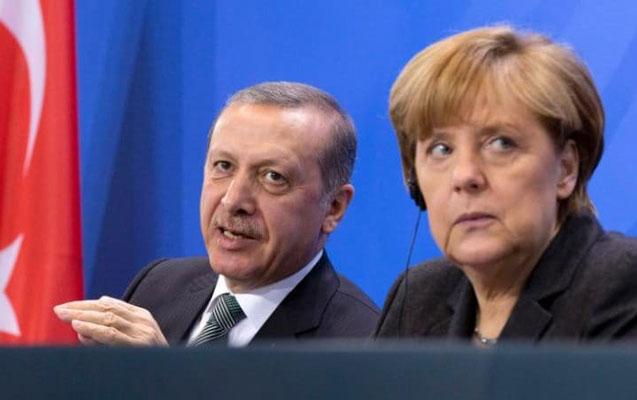Merkel Ərdoğana cavab verdi