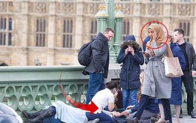 Londondakı teraktda müsəlman qadın qalmaqalı
