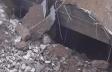 Bakıda çökmüş yolun altında tunel aşkarlandı