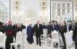 Prezident şeyxin iqamətgahındakı iftar mərasimində
